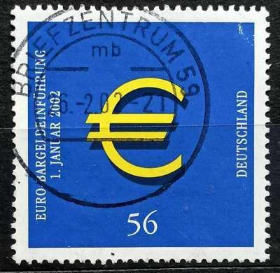 DEUTSCHLAND: MiNr.2234 Euro Symbol 56c 2002