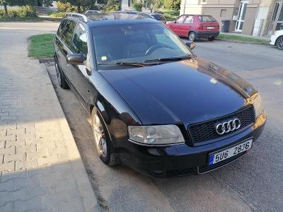 """Audi A6 Avant, 2002, 240.000km, ALU 17"""" zánovní zimní, drobná koroze"""