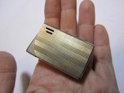 Kovový značený zapalovač viz foto/mosaz/KASCHIE