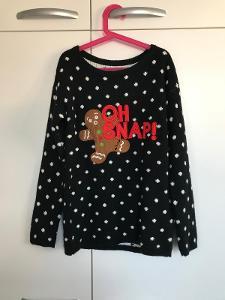 Reserved- Vánoční svetr s perníčkem.
