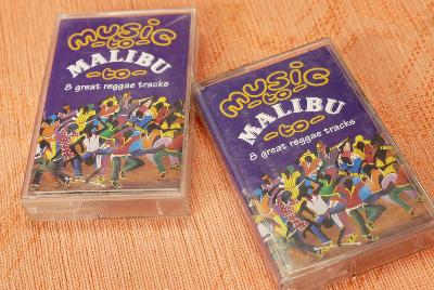 Audio Kazeta Music Malibu Great Reggae Tracks1995 PolyGram 2ks MC