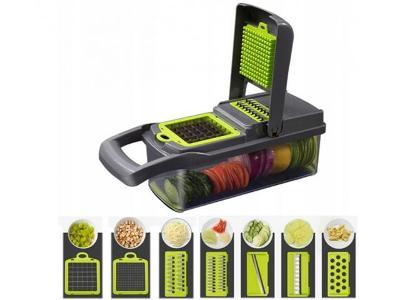 Multifunkční kráječ struhadlo na ovoce a zeleninu NICER DICER + dárek