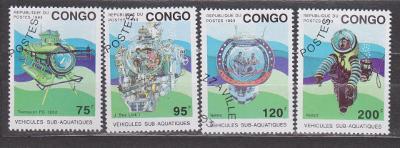 Kongo -  potápění