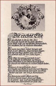 Žena * muž, dvojice, láska, báseň, gratulační * M4859