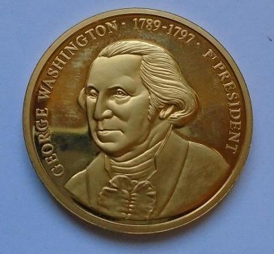 Sběratelská mince - George Washington/1789-1797...(11743)