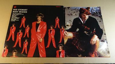 Stewart Rod BODY WISHES 1983 WEA Rec. LP