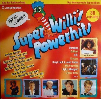 2LP- VA- Super Willi's Powerhits´1988 (Best Hits´1988) ARIOLA Germany
