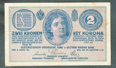 2 koruny 1914 serie C