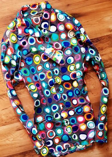 DESIGUAL cam_Lolailo/krásná PÁNSKÁ  luxusní košile/ M/NOVÁ 1,-