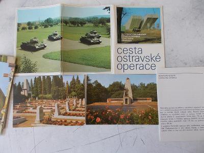 Ostrava osvobození válka zbraně bunkr originál rozkládací sada perfekt