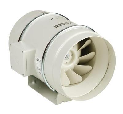 Ventilátor TD 1000 / 250 Mixvent, diagonální do kruhového potrubí