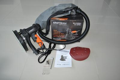 Elektrická bruska na sádrokarton stěnu omítku 1500W 180mm KD1548
