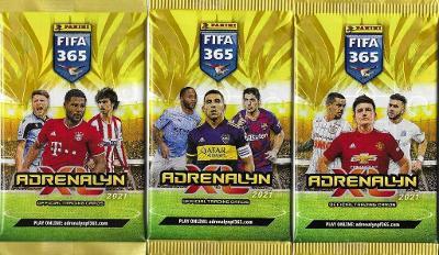 Fotbalové kartičky FIFA 365 - 2021 Adrenalyn XL  : Nové balíčky !
