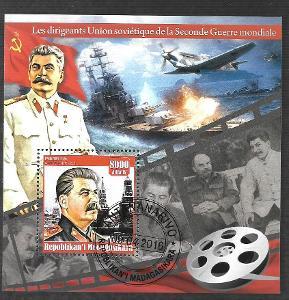 Madagaskar-dirigenti druhé světové války- Stalin, Lenin