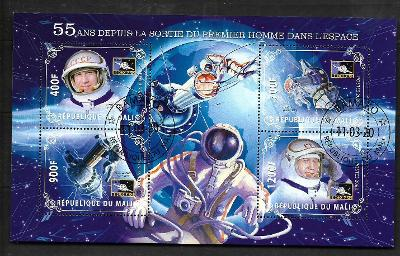 Mali 2020- Alexej Leonov, Voschod 2, výstup do kosmu