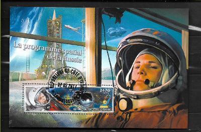 Pobřeží slonoviny 2017- kosmos - Gagarin, Vostok 1