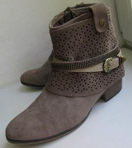 Kožené boty zn. Jenny vel. 39
