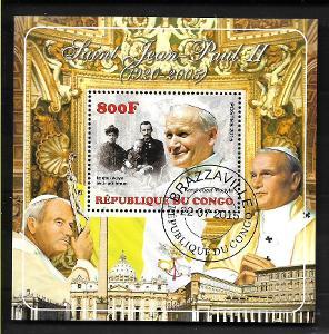 Kongo 2015 - papež Jan Pavel II. s rodinou