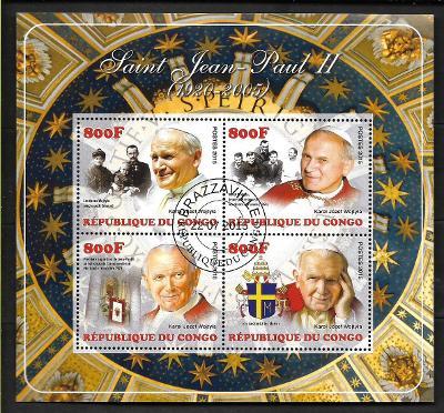 Kongo 2015 - papež Jan Pavel II.