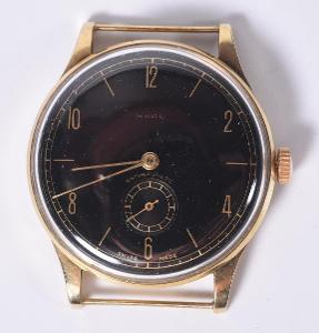 Zlaté hodinky, luxusní pánské , zn. RADO swiss.