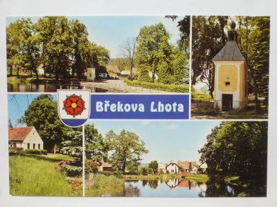 Břekova Lhota, Dublovice, Sedlčany, Krásná Hora n.Vlt., Příbram - ERB