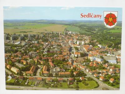 Sedlčany - letecký - ERB