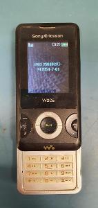 Tlačítkový Mobilní telefon Sony Ericsson W205 Black