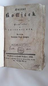 Rarita 2 české knihy z 1836 a 1839
