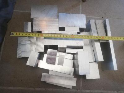 hliník EN-AW 5083 (odřezky, zbytky) - cca 8kg