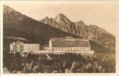 NOVÝ SMOKOVEC - sanatorium Ú.S.P. - Vysoké Tatry - Slovensko - MF