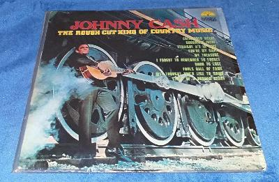 LP Johnny Cash - The Rough Cut King Of Country Music