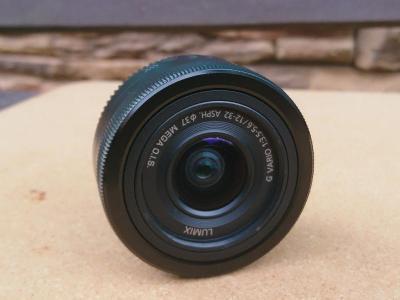 Panasonic Lumix G Vario 12-32 mm f/3,5-5,6 ASPH. Mega O.I.S. černý