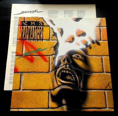 LP- RAPMASTERS - Skandál (album)´1993 + Insert s texty / RARE !!!