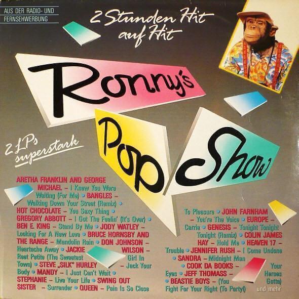2LP- Ronny's Pop Show 9. ´1987 (Queen, Europe, Sandra, Beastie Boys... - Hudba