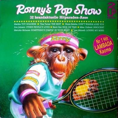 2LP- VA- RONNYS POP SHOW 14. ´1989 - 32 Top Hits