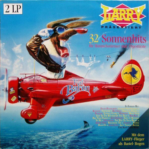 2LP- VA- Larry Präsentiert 32 Sonnenhits´1989 Best Hits - Hudba