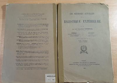 Balistique exterieure 1921