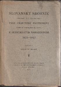 Weingart: Slovanský sborník věnovaný prof. Františku Pastrnkovi, 1923