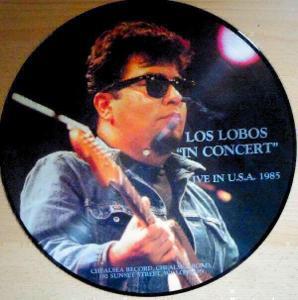 "LP- LOS LOBOS - ""In Concert"" Live In U.S.A. 1985 (Picture LP) NM"