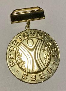 Medaile sportovní hry ČSBD