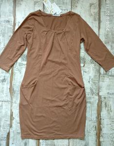 Nové! Pohodlné šaty s kapsami vel. S/M 38 doprodej!