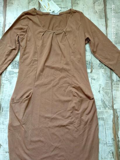 Nové! Pohodlné šaty s kapsami vel. S/M 38 doprodej! - Dámské oblečení