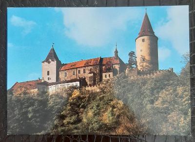 Rakovník Křivoklát pohled na hrad a okolí