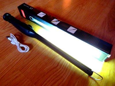 NOVÁ PRACOVNÍ USB LED SVÍTILNA S MAGNETEM NASTAVITELNÁ SÍLA SVITU