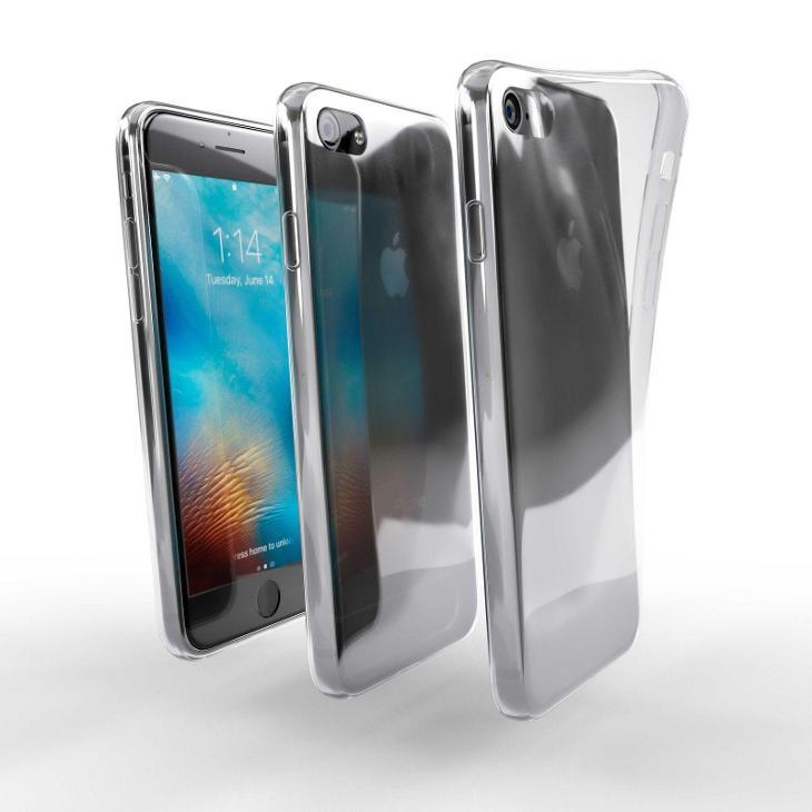 Průhledný zadní kryt / obal - Apple iPhone SE 2 2020 - Obaly, pouzdra, kapsy