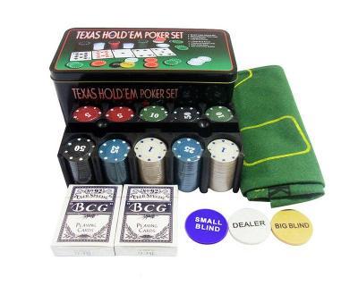Sestava pro poker texas black jack 200 kusu žetonů AUKCE od 1 kč