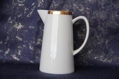 porcelánová mléčenka Loket/ Epiag D.F. Czechoslovakia výška 12 cm