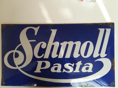 Smaltovaná cedule Schmoll pasta