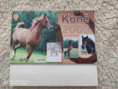 Starý kalendář koní 2009