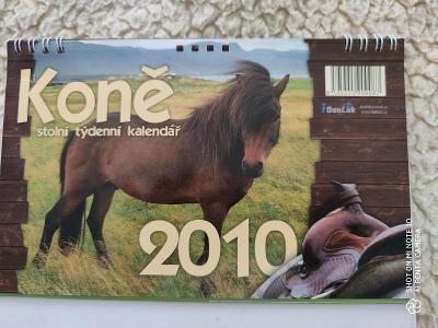 Starý kalendář koní 2010